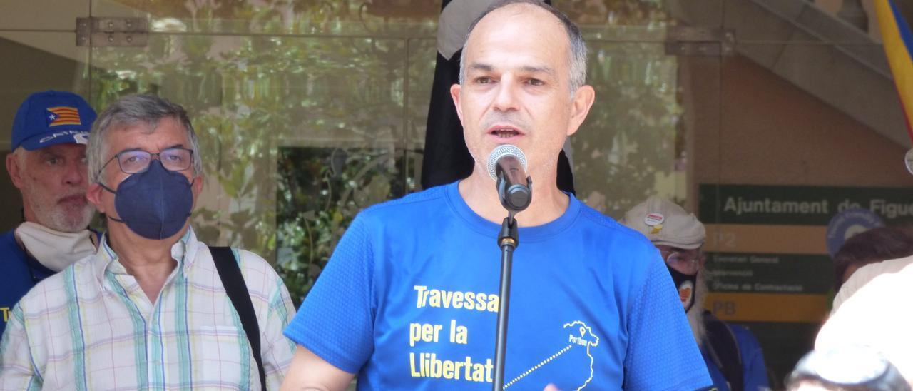 La Travessa de la Llibertat de Jordi Turull visita la ciutat de Figueres