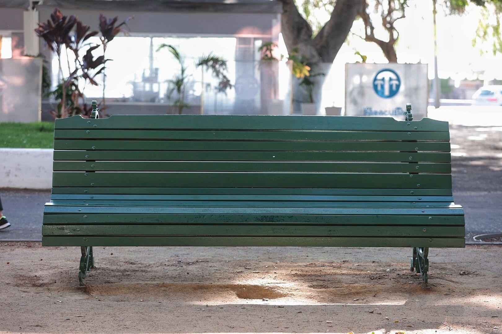 Mobiliario público de Santa Cruz
