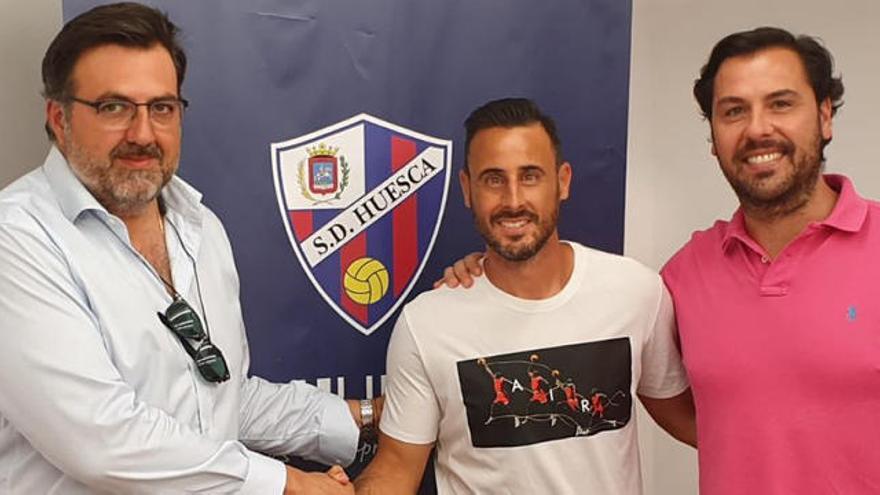 Pedro López se une al proyecto de la SD Huesca
