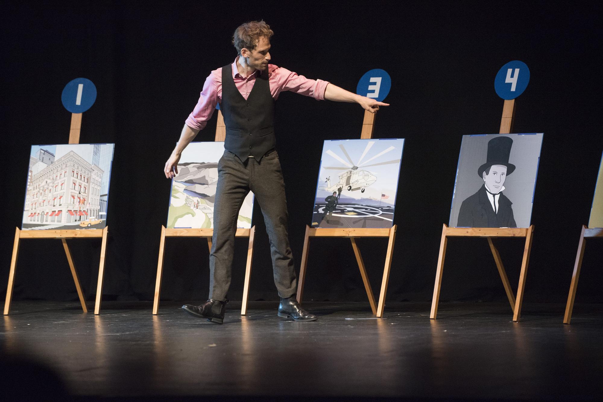 Presentació de l'European Championship of Magic a Manresa
