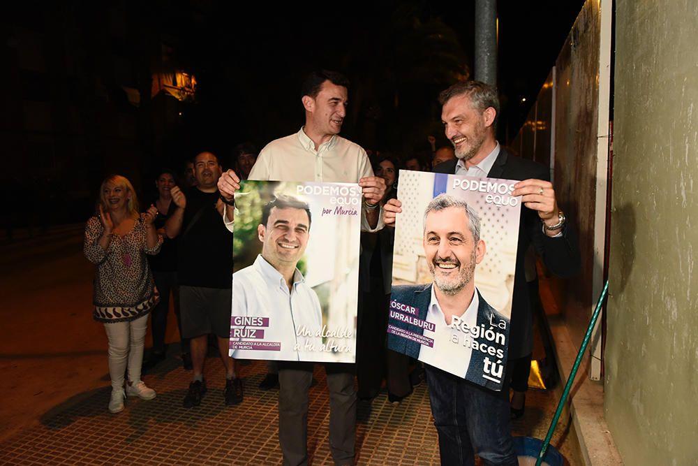 Pegada de carteles elecciones 26M