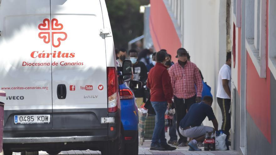 Cáritas duplica durante la pandemia la demanda de atención en Las Palmas