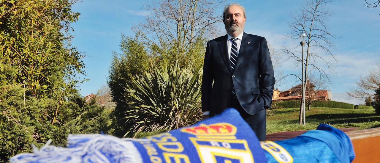 Manolo Paredes,  en el parque de  La Fresneda.   Miki López
