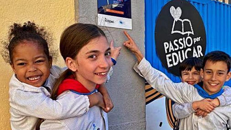 FEDAC Gironella rep el segell Smart que acredita una educació innovadora