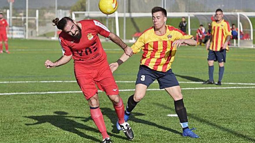 El líder Pirinaica B rescata un punt en el tram final contra el Sallent B (1-1)