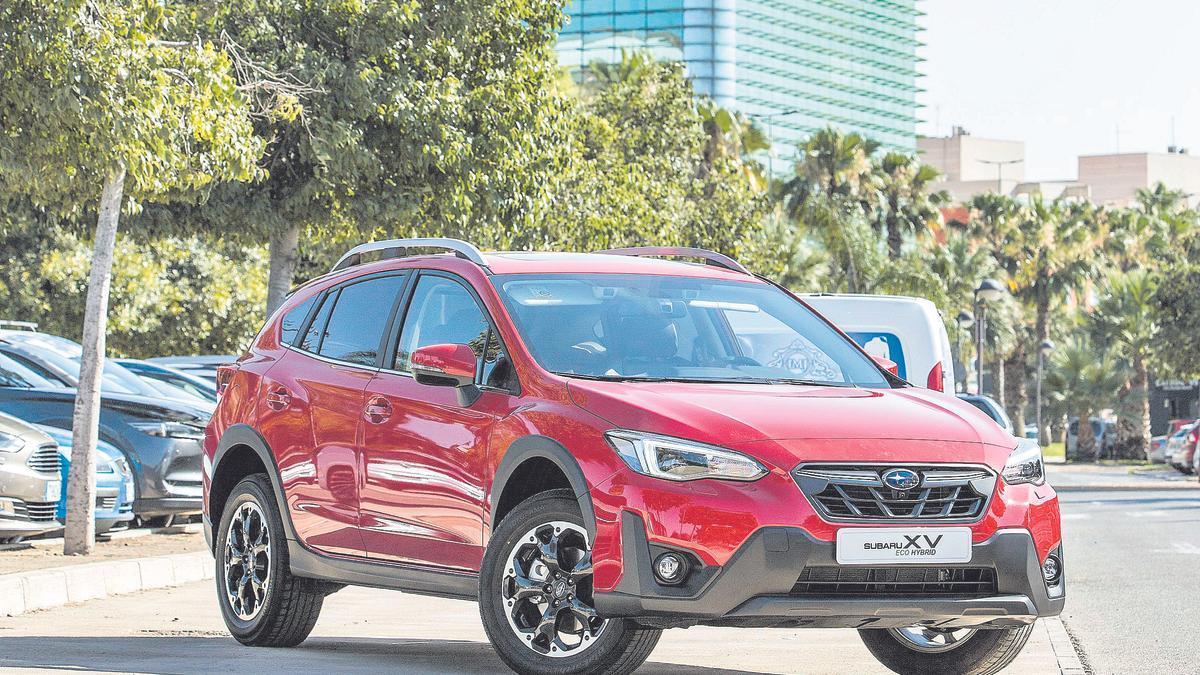 Subaru XV: acceso premium