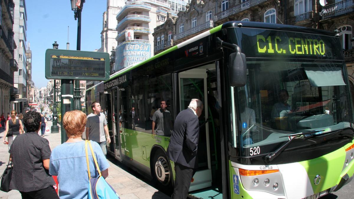 Imagen de un bus actual.