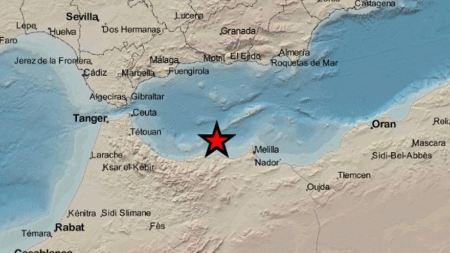 Un terremoto de magnitud 4 en Alborán se deja sentir en la Axarquía