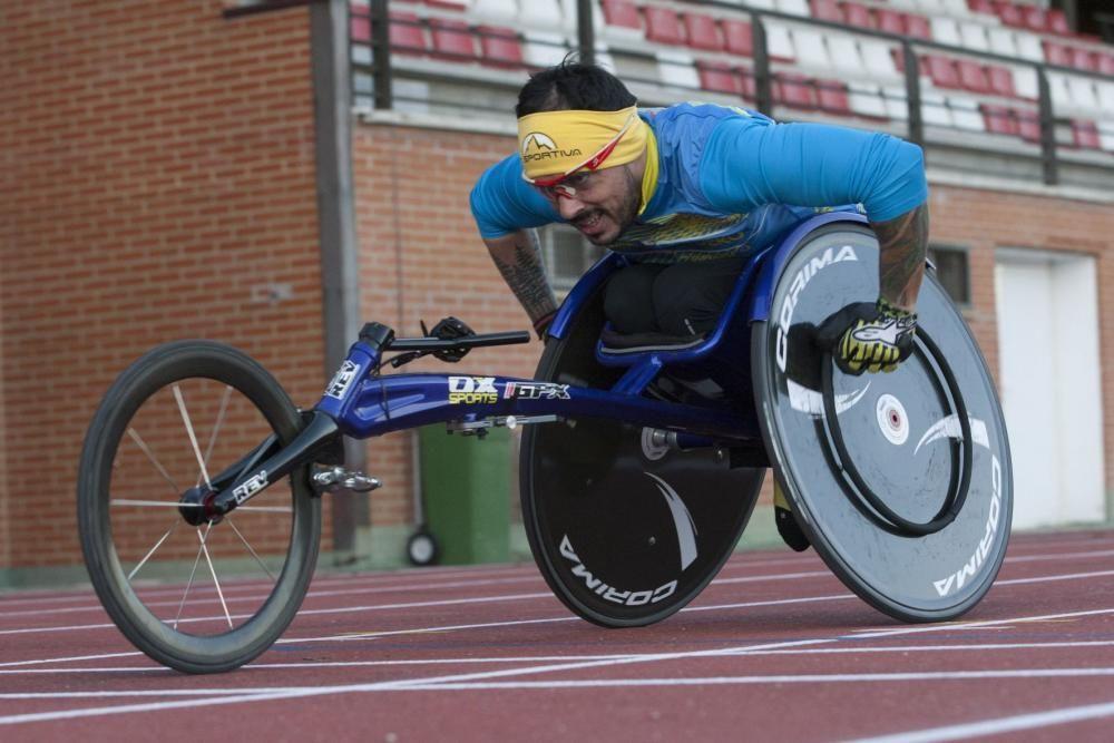Iván Heras, a por los mejores paralímpicos