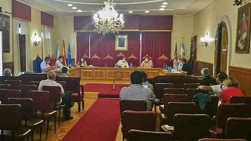 Unanimidad en el pleno de Tui para pedir al Gobierno los fondos destinados al desescombro de Paramos