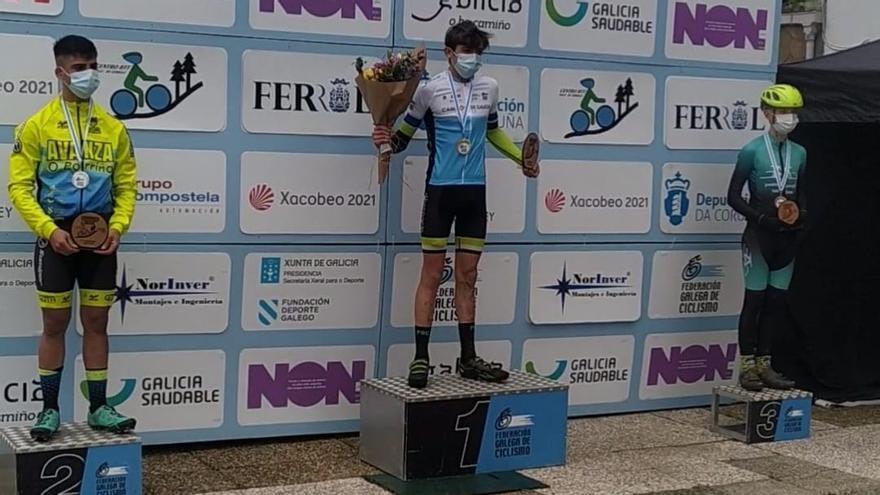 Héctor García, del Poio Bike, campeón gallego