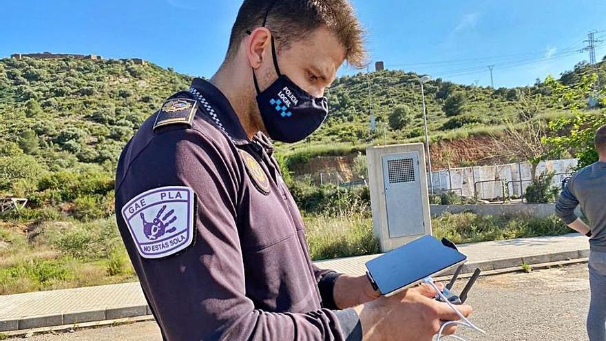 Almenara suma un dron para evitar robos y vertidos ilegales