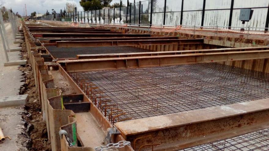 Arrancan las obras de la pendiente que dará acceso al túnel del soterramiento