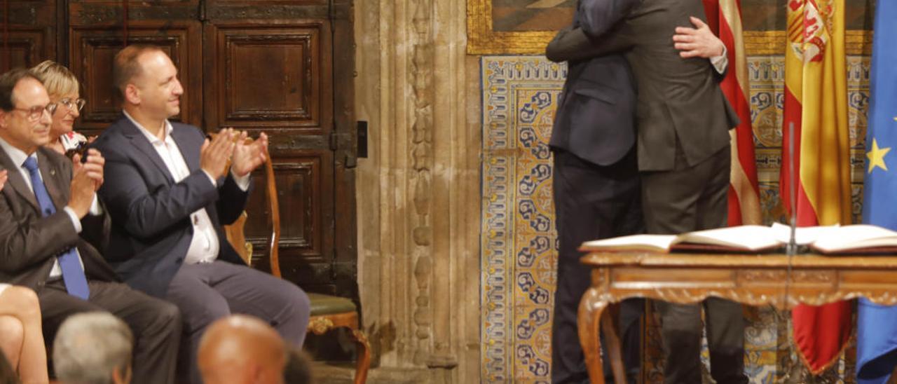 Puig medita repetir tras  el debate de la sucesión  al aupar a Arcadi España