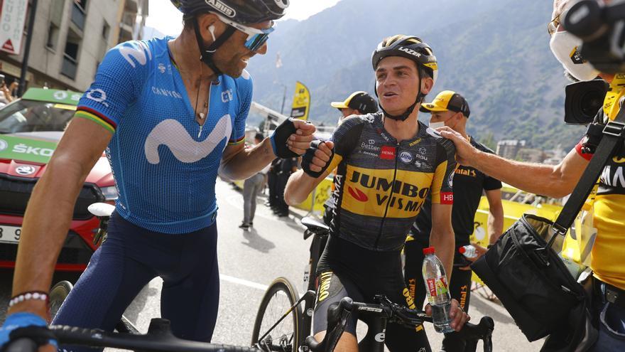 Tour de Francia: Valverde se queda sin premio en Andorra