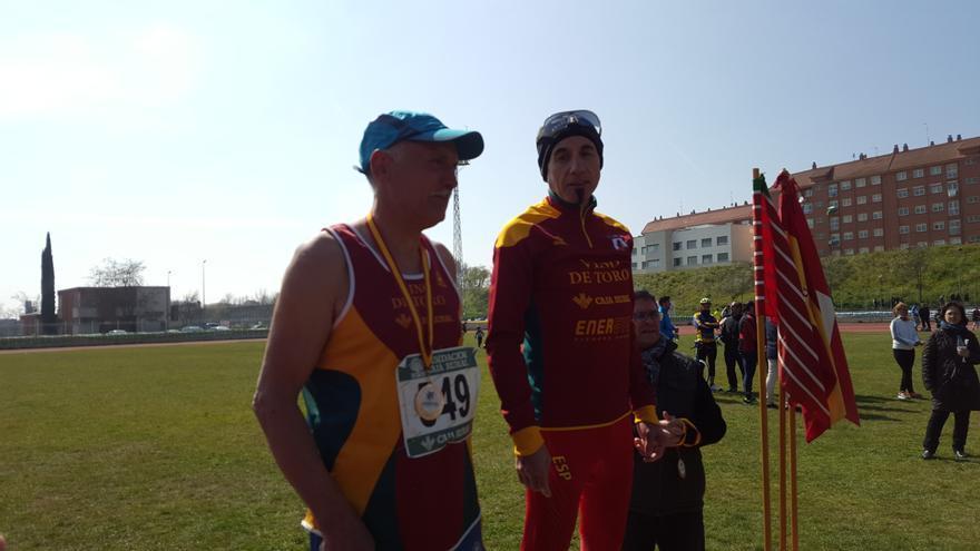 Félix Moreno y María José Tomaz, campeones de España de 100 kilómetros