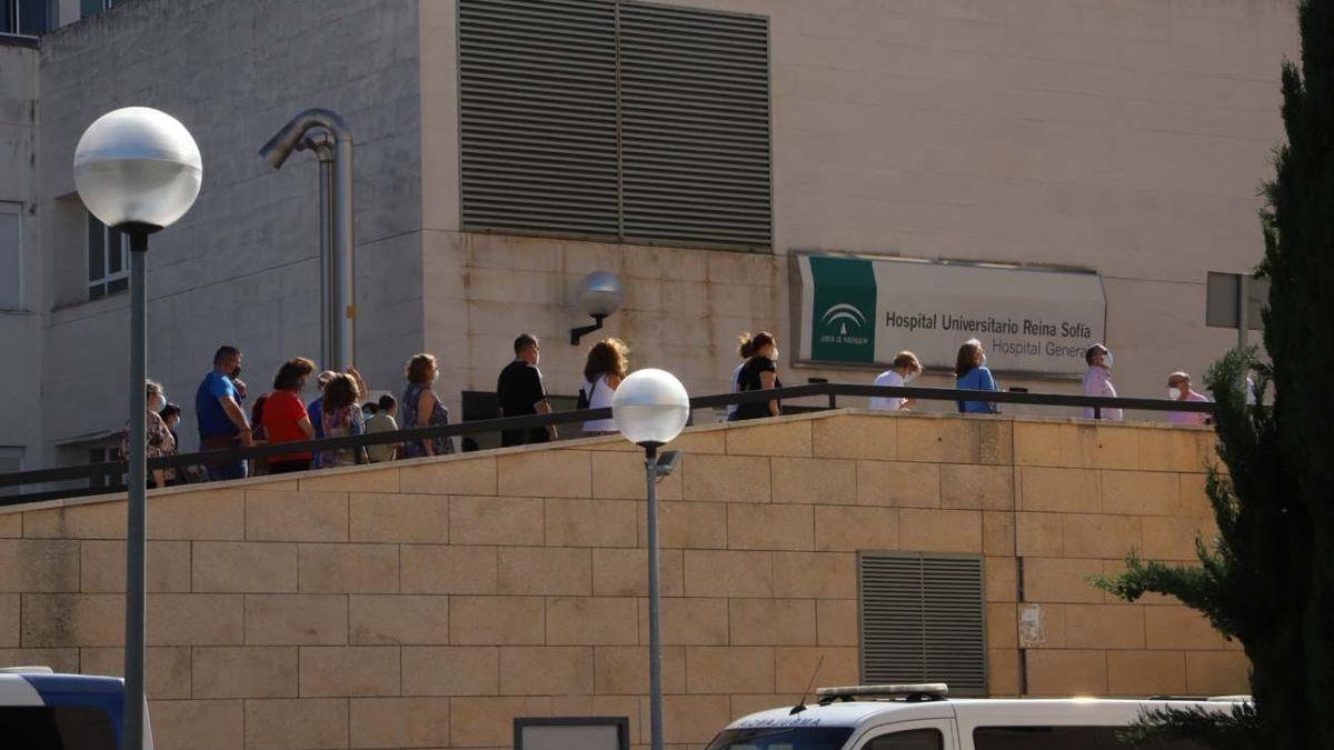 Dependencias de hospital Reina Sofía.