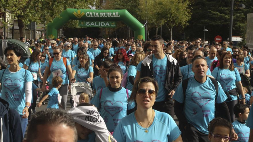 2.500 personas apoyan la Carrera de la Guardia Civil en Zamora