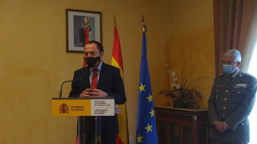 El subdelegado de defensa deja su puesto en Zamora