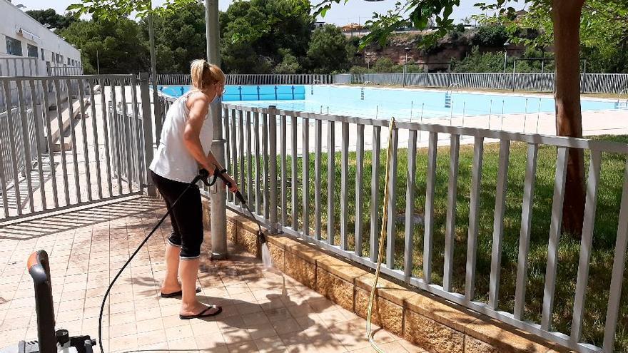 Vila-real abre la piscina del Termet, pero con cita previa