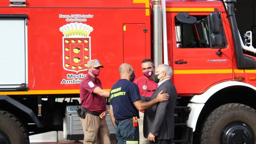 Casi 200 operarios y 1,4 millones de inversión contra incendios en La Gomera