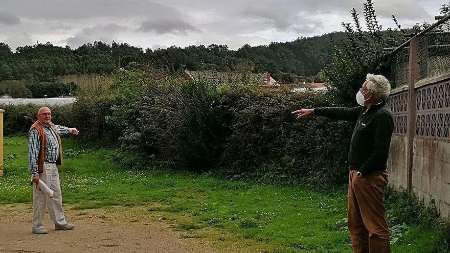 """Estupor por cambios de lindes en una aldea de Miño: """"Nos parten en dos la propiedad"""""""