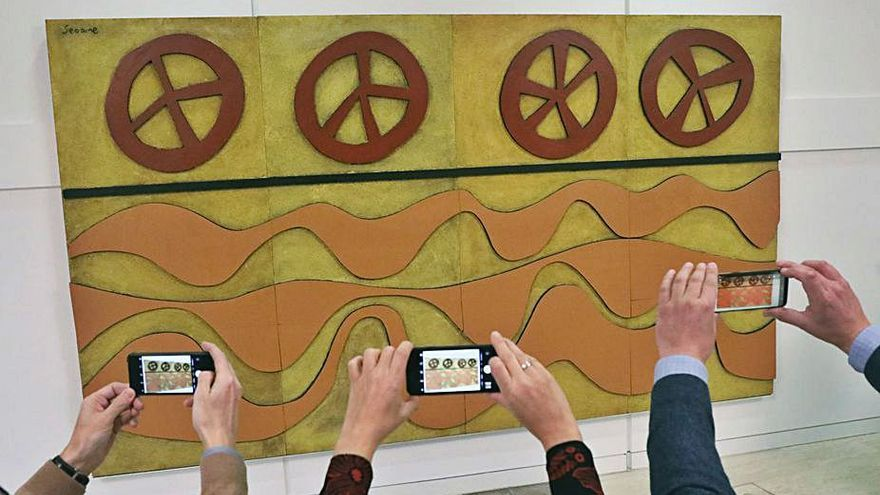 Galicia gana para el Gaiás un mural de Luis Seoane pintado por él en Argentina