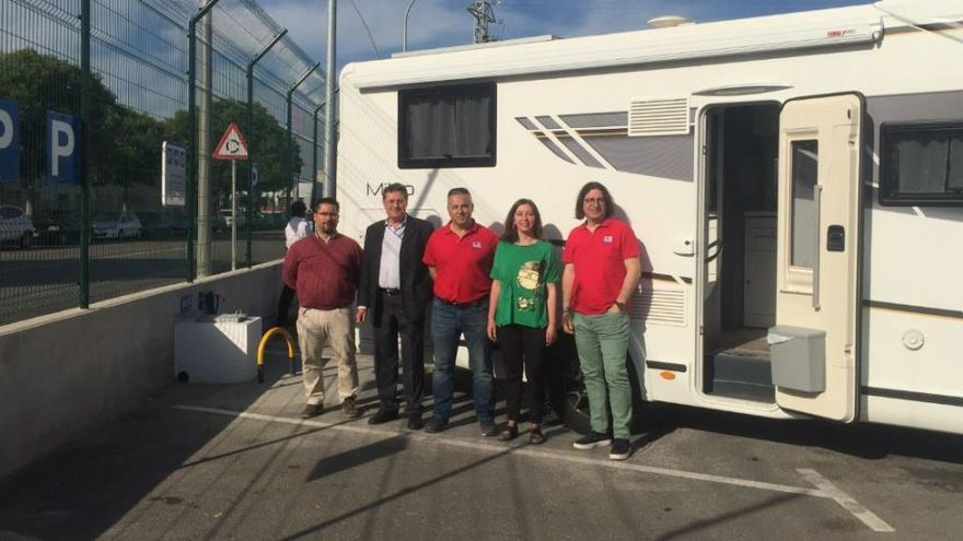 Palmas Stadtwerke eröffnen Service-Punkt für Wohnmobile auf Mallorca