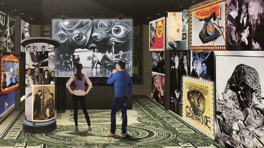 La veu de Dalí articularà els continguts del projecte museogràfic de la casa natal de Figueres