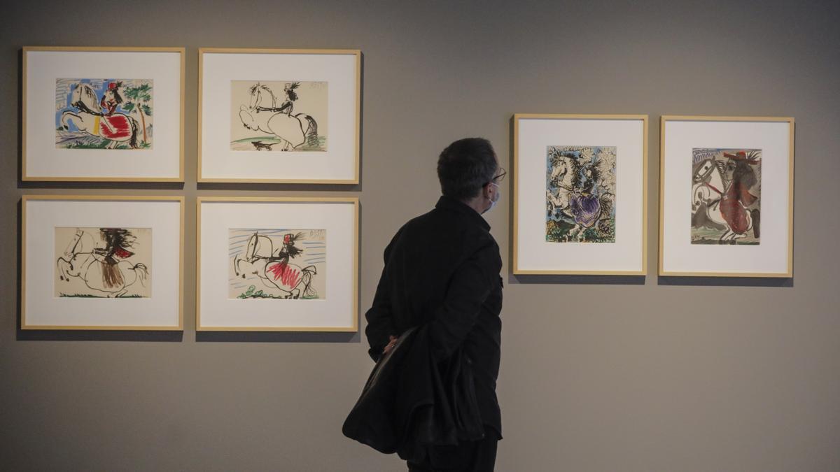 Una parte de la muestra 'Goya en la mirada de Picasso'