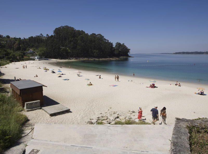 Playa de Mogor (Marín)