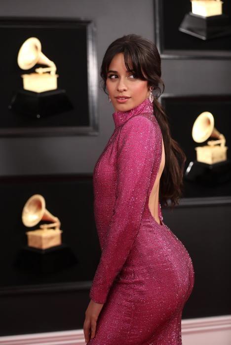 Camila Cabello, en los Grammy.