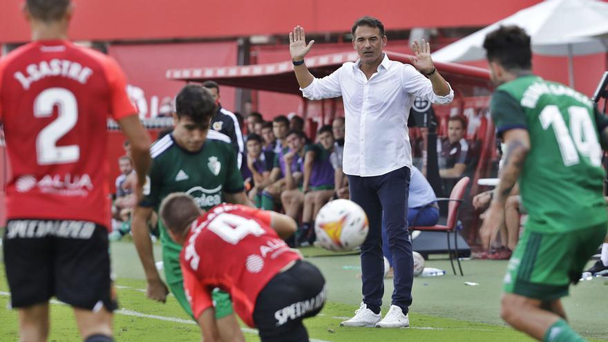 Luis García:«El momento actual del equipo es complicado»
