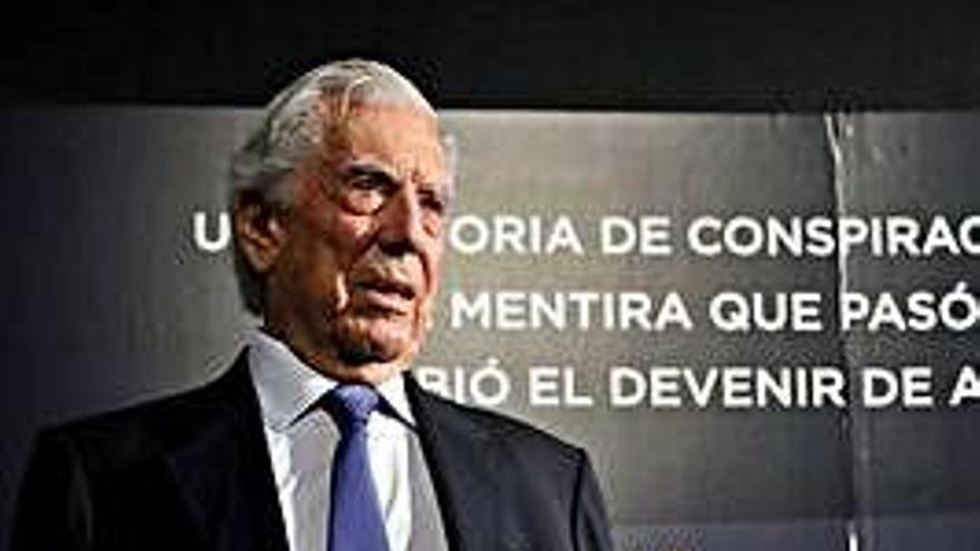 """Vargas Llosa: """"Un país no se jode en un día"""""""