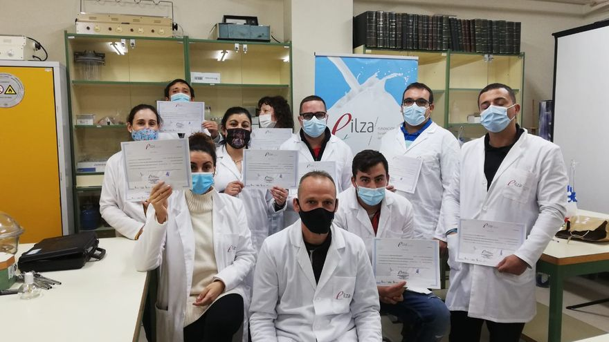 La Escuela de Industrias Lácteas continúa con sus cursos en Zamora