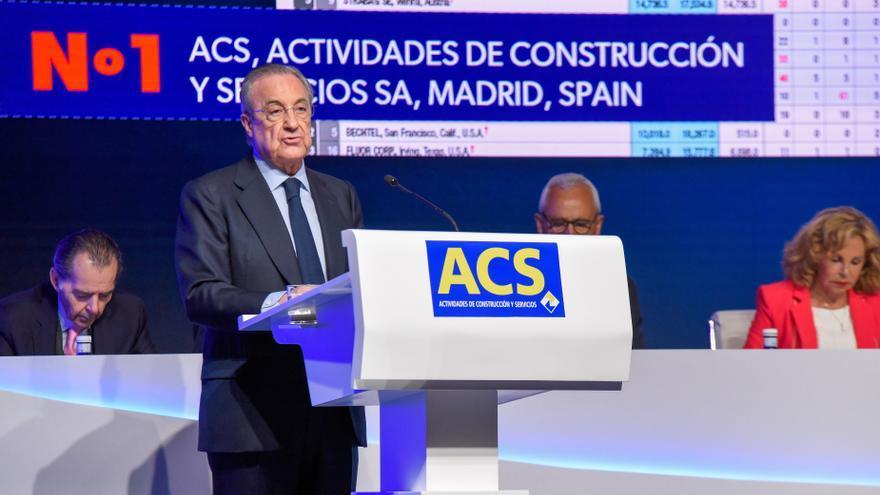 ACS gana  574 millones en 2020, afectado por la reducción de 280 millones de Abertis