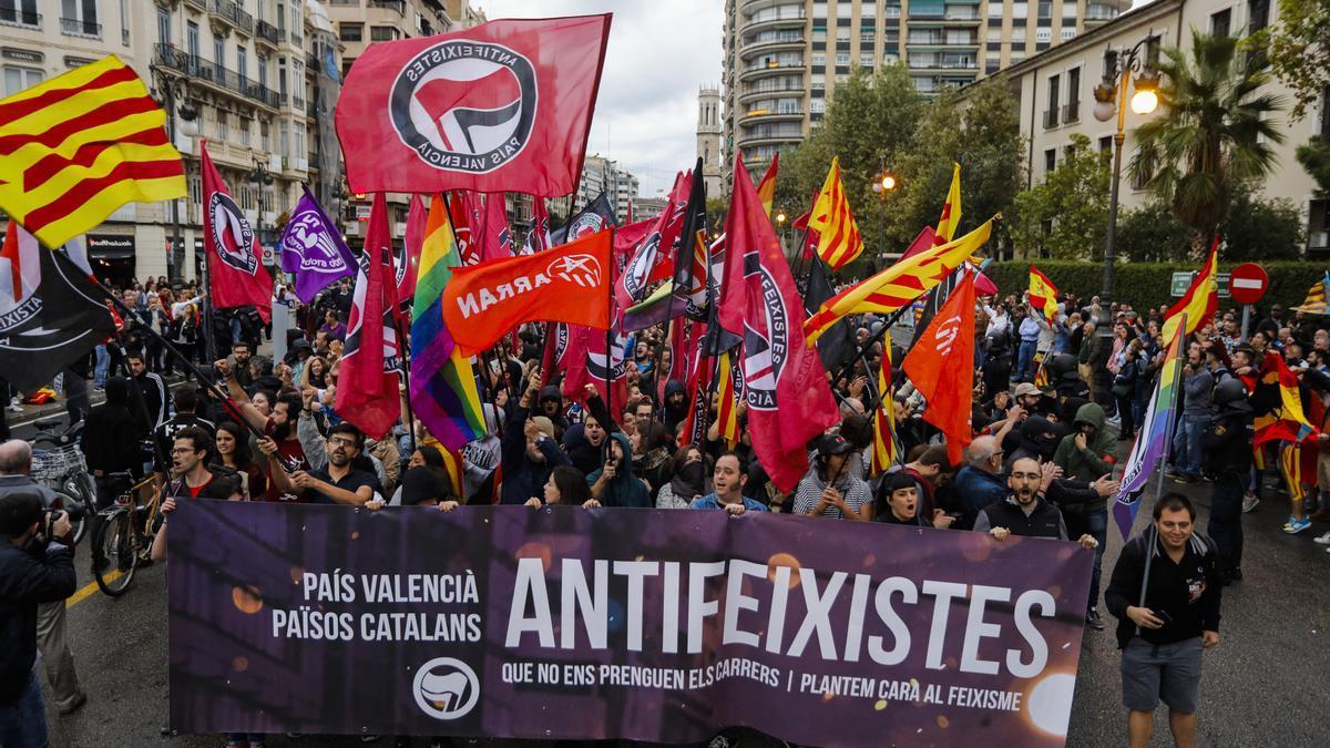 Manifestaciones del 9 d'Octubre 2020 en Valencia: horarios y por dónde pasan.