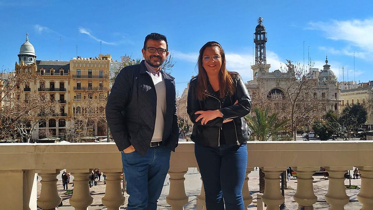 Jaume Bronchud y Arancha Ferrer.   LEVANTE-EMV