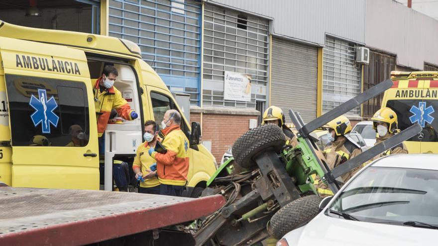 Els accidents mortals a la feina creixen un 21,54% el 2020