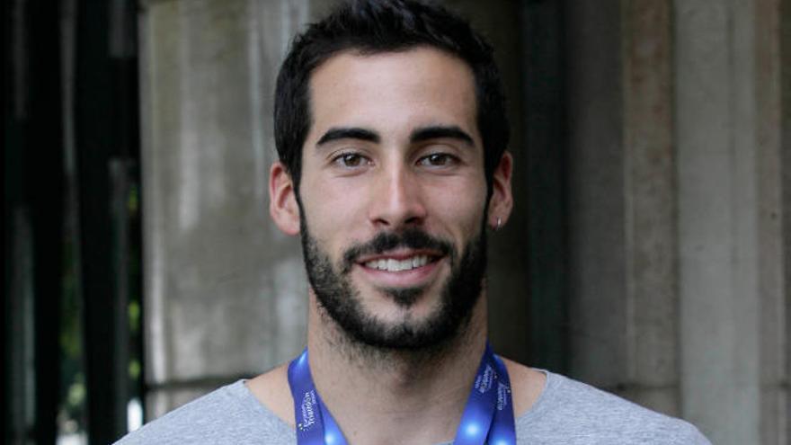 El tinerfeño 'Chente' Hernández compite hoy en Estocolmo