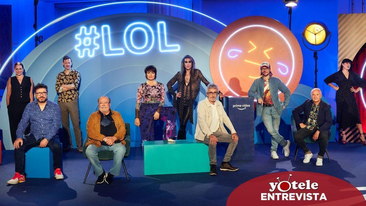 Imagen de los presentadores y participantes de 'Lol: Si te ríes, pierdes'.