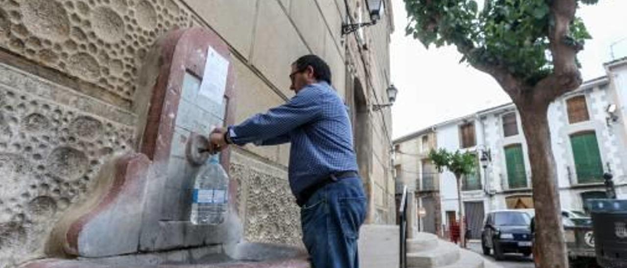 Tàrbena sufrirá restricciones de agua este verano por la sequía