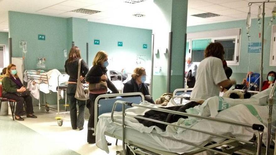 Descienden a 149 los ingresados por gripe A en Aragón, de ellos 25 están en la UCI