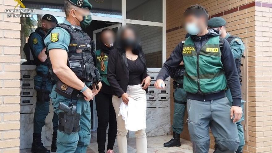 Liberadas cinco mujeres en La Coruña, Toledo y Alicante víctimas de trata y explotación sexual