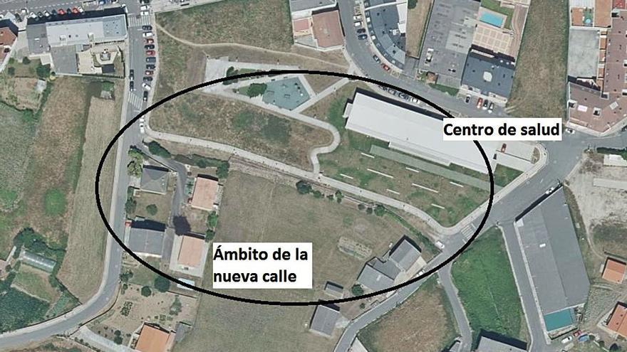El Concello creará un vial que comunicará las calles Ponte y Aguceira, en Vilarrodís