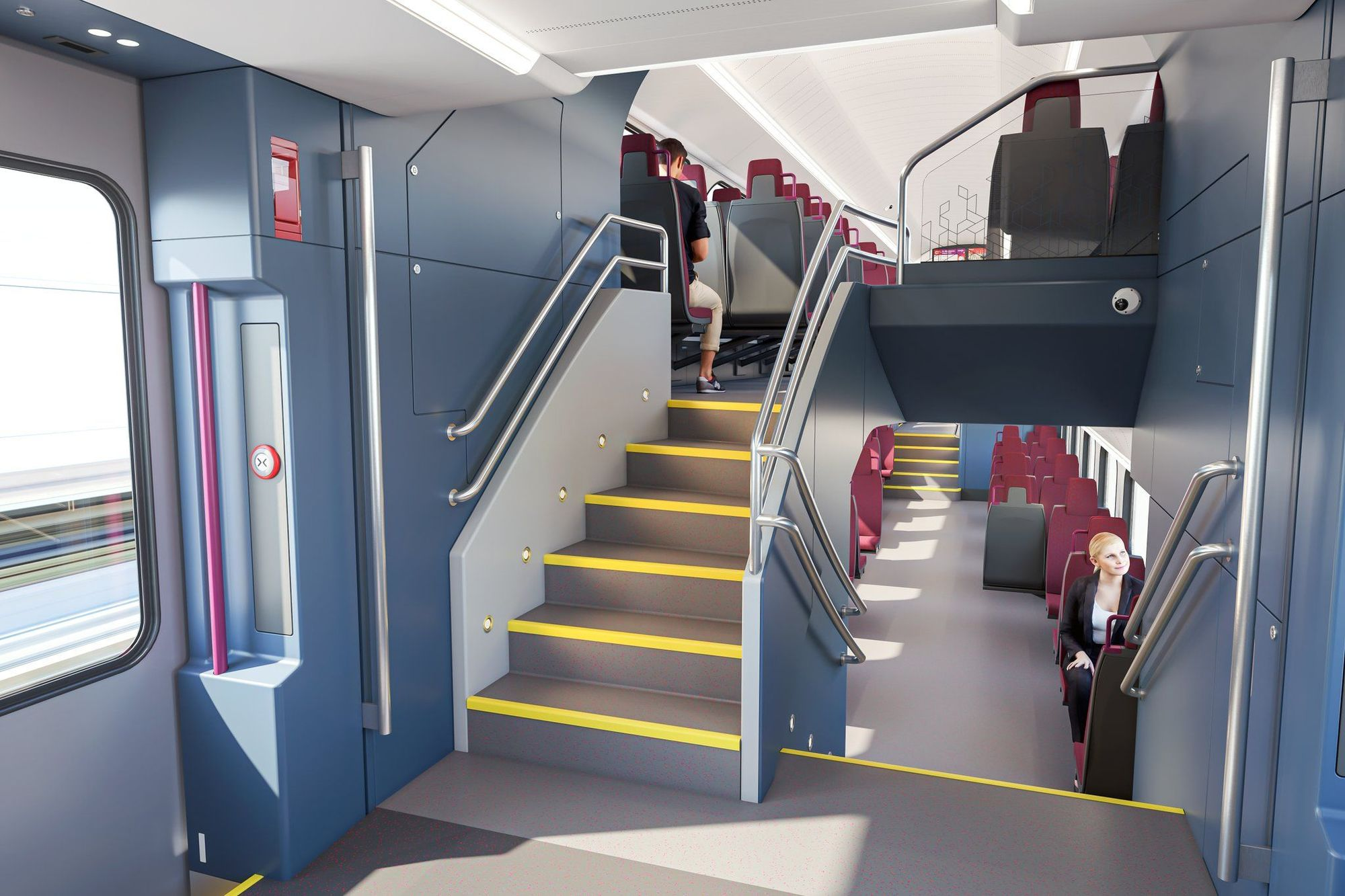 Así serán los nuevos trenes que se fabricarán en Albuixech para Renfe