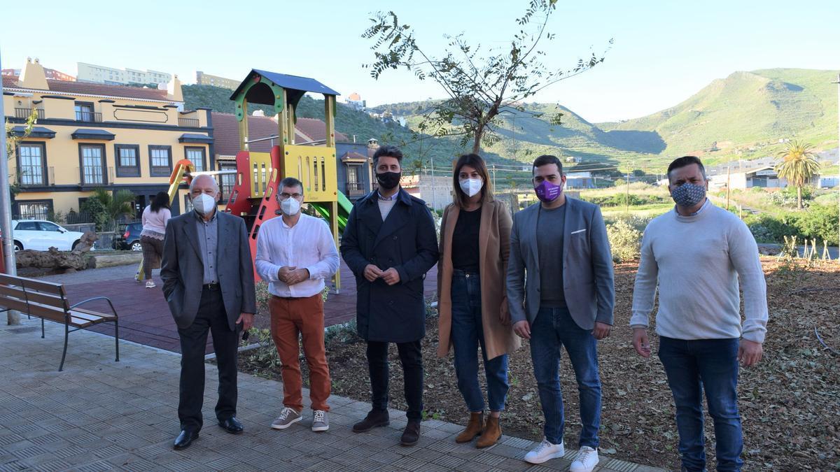 La apertura del nuevo parque de La Hinojosa.