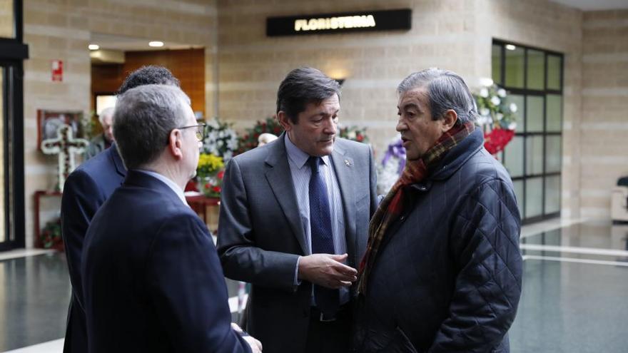 Muere Vicente Álvarez Areces: Despedida en el tanatorio de Cabueñes