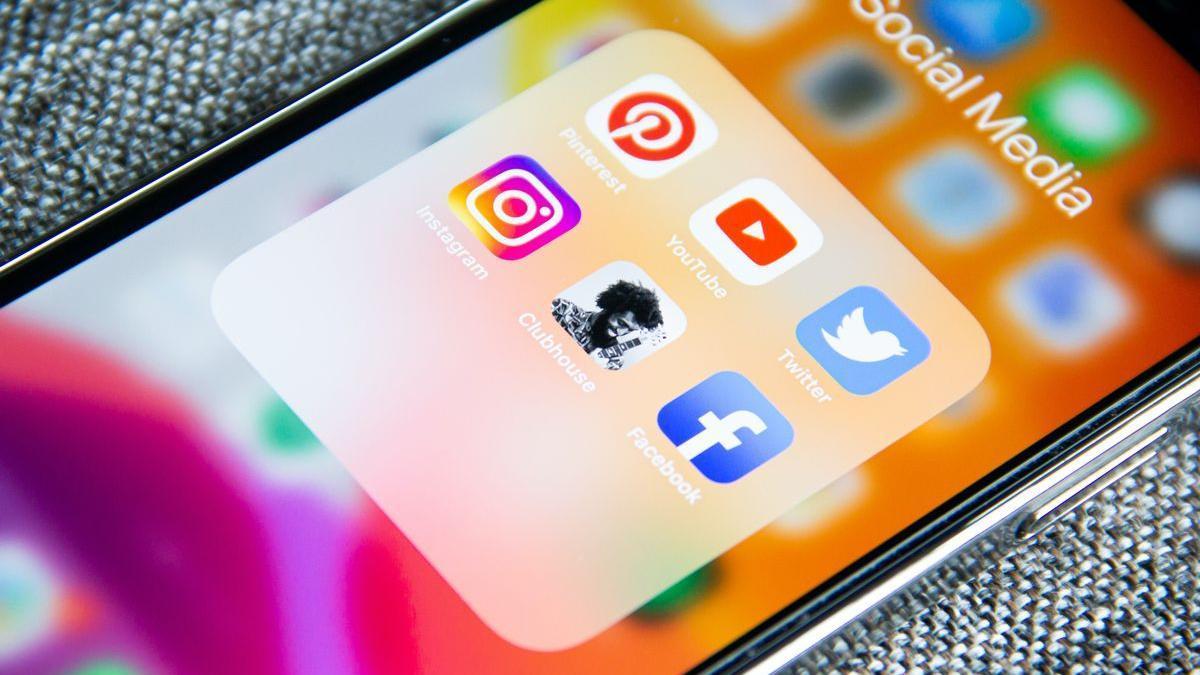 Algunas apps de las redes sociales más usadas.