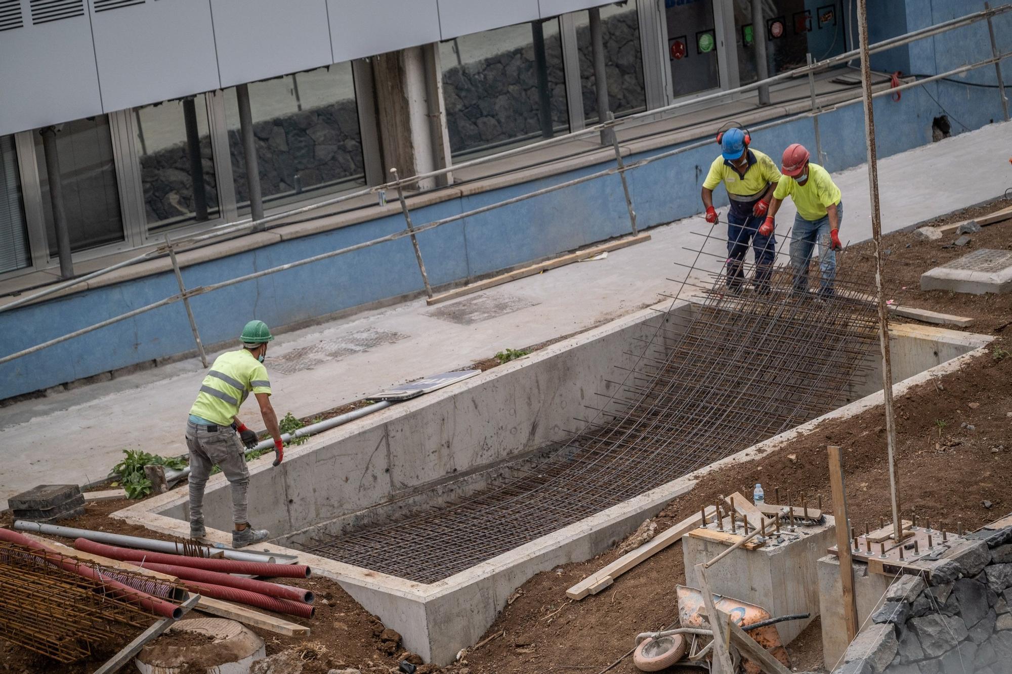 Obras edificio Puerto-Ciudad
